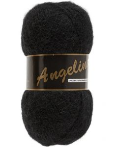 pelote de 100 g Angelina de Lammy coloris noir 001