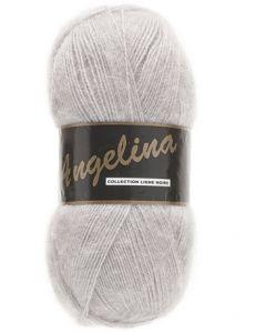 pelote de 100 g Angelina de Lammy coloris gris clair 003