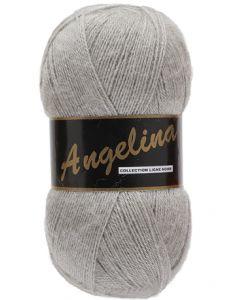 pelote de 100 g Angelina de Lammy coloris gris 004