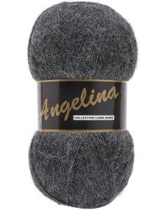 pelote de 100 g Angelina de Lammy coloris gris foncé 006