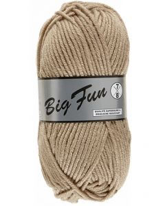 pelote 100 g BIG FUN de Lammy coloris 015 grege