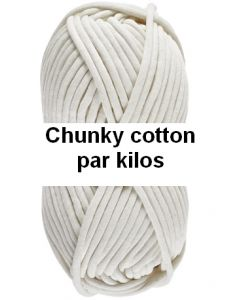 pelotes CHUNKY COTTON de lammy