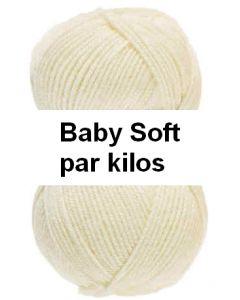 pelote fil layette baby soft de lammy par kilos