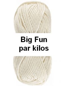 pelotes big fun de lammy par kilos