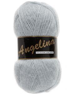 pelote de 100 g Angelina de Lammy coloris gris clair 38