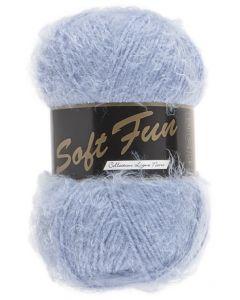 pelote 100 g SOFT FUN de lammy coloris 040 bleu
