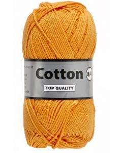 pelote 50 g Coton 8/4 coloris orange 41