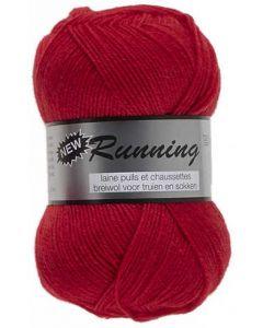 pelote de 50 g de fil chaussettes RUNNING coloris 043 rouge