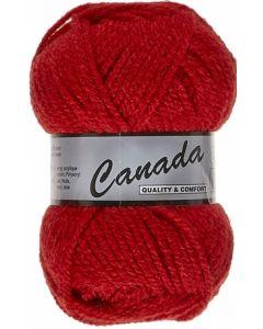 pelote 50 g canada de lammy 043 rouge