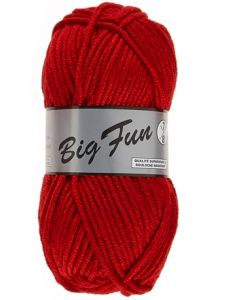 pelote 100 g BIG FUN de Lammy coloris 043 rouge