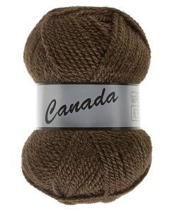 pelote 50 g canada de lammy 049 marron foncé