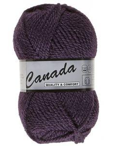 pelote 50 g canada de lammy 084 violet foncé