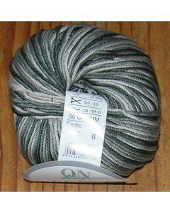pelote 50 g ALPHA de Online coloris multicolore gris 112 bain 6