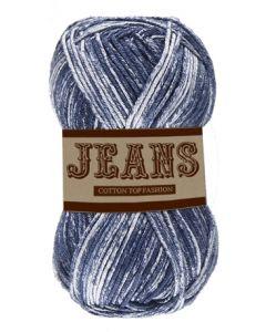 Pelote 50 g Jeans 100% coton coloris jeans bleu 11
