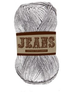 Pelote 50 g Jeans 100% coton coloris jeans gris clair 14