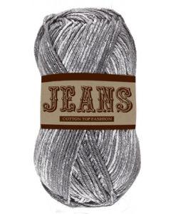 Pelote 50 g Jeans 100% coton coloris jeans gris 15