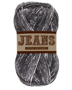 Pelote 50 g Jeans 100% coton coloris jeans noir 16