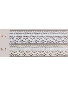Dentelle coton réf 1865 - vendue au mètre