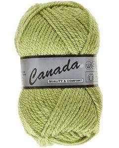 pelote 50 g canada de lammy 277 vert anis