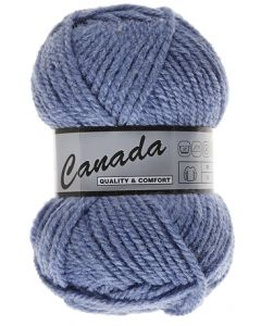 pelote 50 g canada de lammy 352 bleu jeans