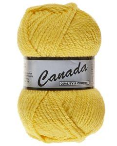 pelote 50 g canada de lammy 372 jaune