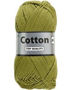 pelote 50 g Coton 8/4 coloris vert 380