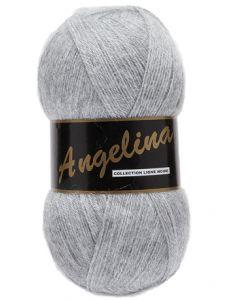 pelote de 100 g Angelina de Lammy coloris gris 039