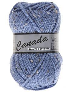 pelote 50 g canada de lammy 450 bleu moucheté