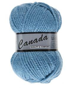 pelote 50 g canada de lammy 457 bleu cobalt