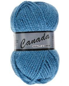 pelote 50 g canada de lammy 458 bleu super cobalt