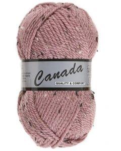 pelote 50 g canada de lammy 485 rose moucheté