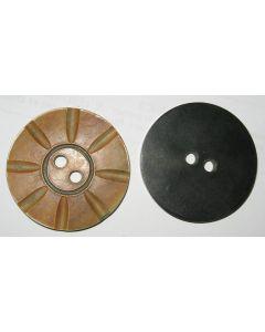 grand bouton knopf en corne 50 mm