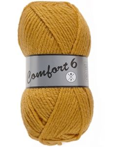 pelote 100 g comfort 6 coloris curry 512