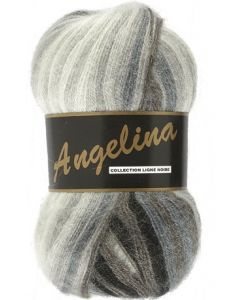 pelote de 100 g Angelina de Lammy coloris multicolore 620 gris