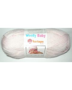 pelote 50 g layette WOOLLY BABY coloris rose clair 699