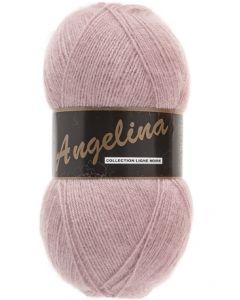 pelote de 100 g Angelina de Lammy coloris vieux rose 710