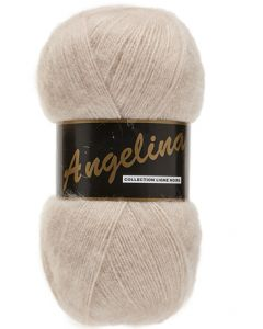 pelote de 100 g Angelina de Lammy coloris beige clair 734