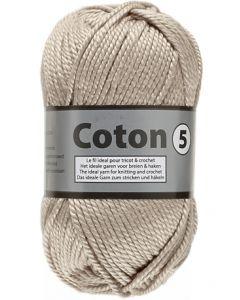 pelote de 100 g de coton 5 - coloris 791 beige