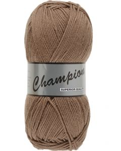 Pelote 100g Champion uni coloris 793 marron
