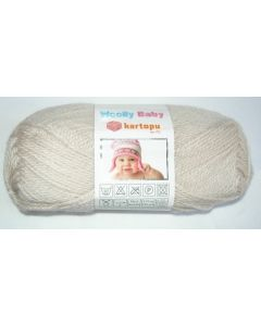 pelote 50 g layette WOOLLY BABY coloris beige 855