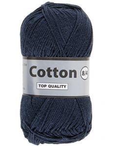 pelote 50 g Coton 8/4 coloris bleu foncé 892