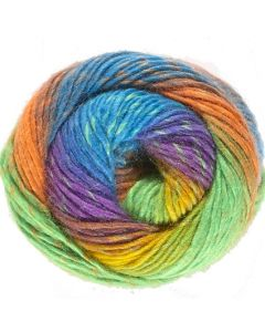 pelote 100 g rainbow de lammy coloris 901 bain 04