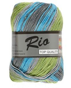 pelote de 100 g coton rio jacquard coloris 904