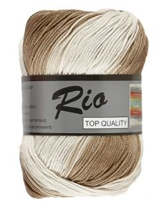 pelote de 100 g coton rio jacquard coloris 908
