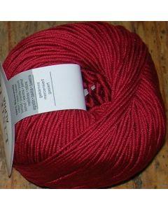 pelote 50 g ALPHA de Online coloris rouge 96 bain 6