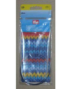 Aiguille à tricoter circulaire n°2,5 - 80 cm