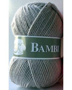 Pelote de 50 g Bambi de TDLM coloris 57 galet (grège - gris)