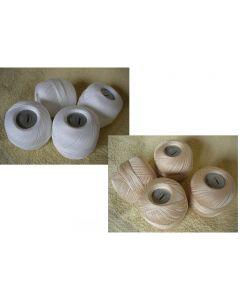 PELOTES coton à crocheter DE LAMMY