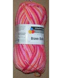 pelote 50 g BRAVO BABY coloris 184 bain 564613