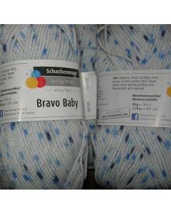 pelote 50 g BRAVO BABY coloris 185 bain 159741